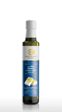 Gourmet condiment with Feta cheese